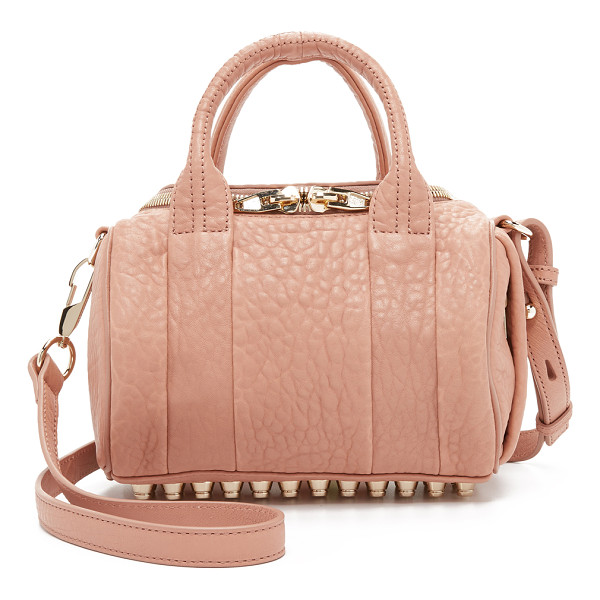 ALEXANDER WANG Mini rockie cross body bag - Pebbled leather composes this scaled down Alexander Wang