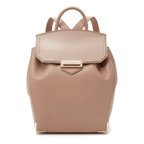 ALEXANDER WANG Prisma skeletal backpack - A rich leather Alexander Wang backpack with polished gold