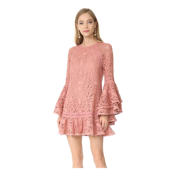 ALEXIS veronique dress - Exclusive to Shopbop. A romantic lace Alexis mini dress in...