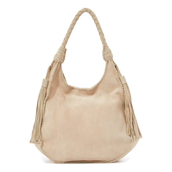 ALICE + OLIVIA Andrew suede hobo bag - A slouchy alice + olivia hobo bag with whipstitch side...
