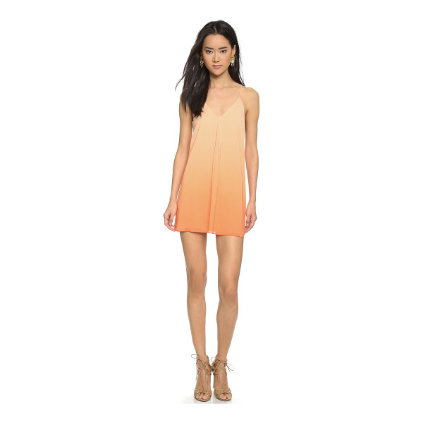 ALICE + OLIVIA Fierra dress - An inverted center pleat adds movement to an airy silk...