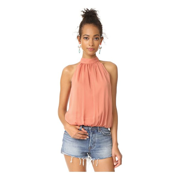 ALICE + OLIVIA maris gathered halter top - Exclusive to Shopbop. This cropped alice + olivia top is...
