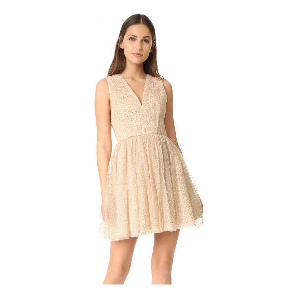 ALICE + OLIVIA monica gathered party dress - NOTE: Runs true to size. Please see Size & Fit tab....