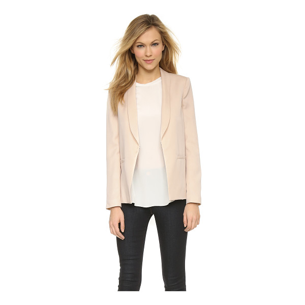 ALICE + OLIVIA Tori slim collar loose jacket - An alice + olivia jacket with a slouchy profile offers a...