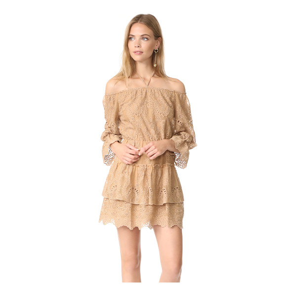 ALICE + OLIVIA waylon dress - This breezy alice + olivia off-shoulder dress is finished...