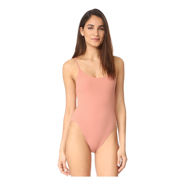 ALIX delano one piece - A high-cut Alix maillot with sleek, throwback style. Slim...