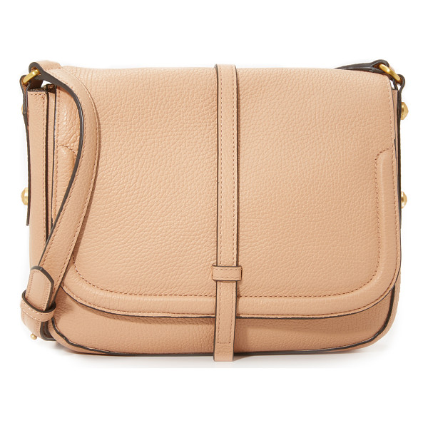 ANNABEL INGALL Allisyn saddle bag - A modern Annabel Ingall saddle bag in rich pebbled leather.