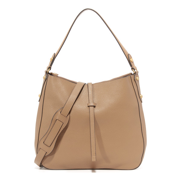 ANNABEL INGALL Brooke Hobo Bag - Faceted studs accent this pebbled leather Annabel Ingall