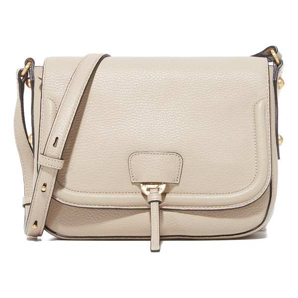 ANNABEL INGALL camille saddle bag - Faceted studs accent this pebbled leather Annabel Ingall
