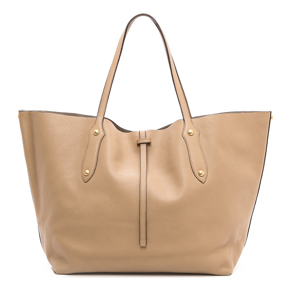 ANNABEL INGALL Large isabella tote - Faceted gold tone studs and feet lend subtle shine to a
