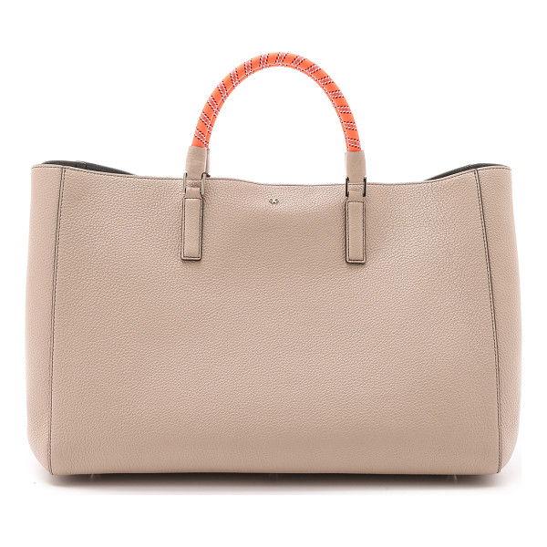 ANYA HINDMARCH Have a nice day tote - This spacious leather Anya Hindmarch tote is trimmed with