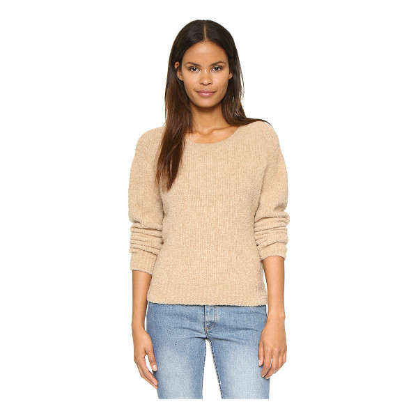 A.P.C. Boucle sweater - A plush A.P.C. sweater with a tapered fit. Ribbed edges and...