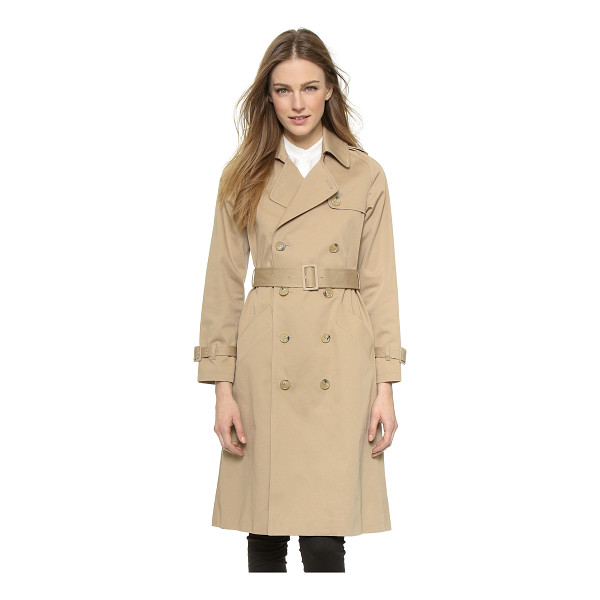 A.P.C. greta trench coat - A clean, timeless A.P.C. jacket in a smart trench style....