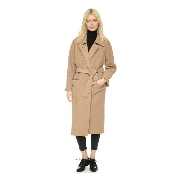 APIECE APART Iliana coat - A warm Apiece Apart trench coat with draped overlays in...