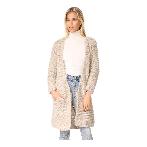 APIECE APART nepenthe long cardi - This cozy Apiece Apart cardigan is composed of soft, fuzzy...