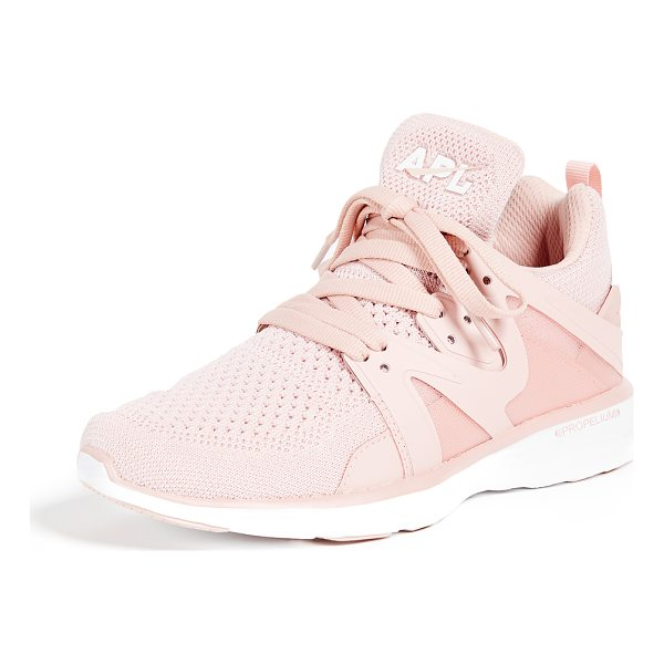 APL: ATHLETIC PROPULSION LABS ascend sneakers - Fabric: Fused knit / mesh Jogger sneakers Flat profile...