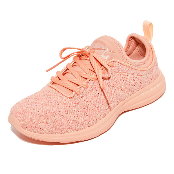 APL: ATHLETIC PROPULSION LABS techloom phantom sneakers - Raised stitch patterns bring unique dimension to these APL:...