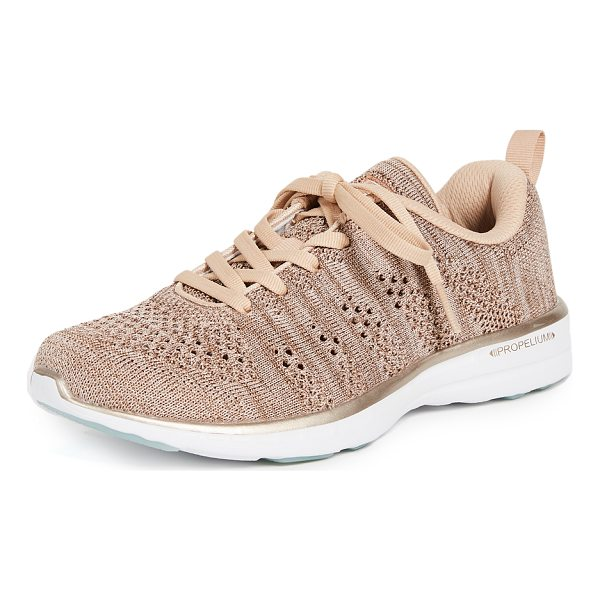 APL: ATHLETIC PROPULSION LABS techloom pro sneakers - Fabric: Fused knit Athletic style Flat profile Lace-up at...