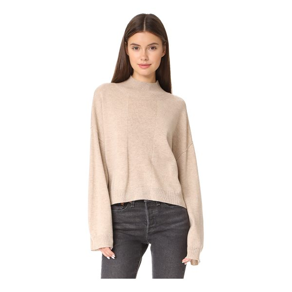 ATM ANTHONY THOMAS MELILLO alpaca mock neck sweater - This marled ATM Anthony Thomas Melillo mock-neck sweater...