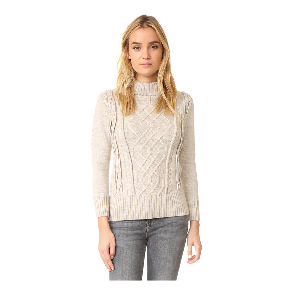 AYR the louisiana sweater - A fixed, fold over turtleneck collar lends a cozy feel to...