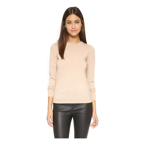 AYR The french girl sweater - A classic AYR sweater composed of soft wool and accented...
