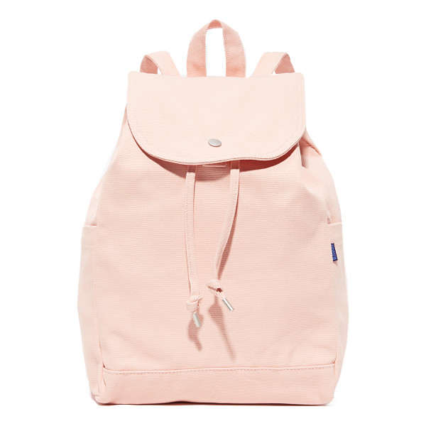 BAGGU drawstring backpack - An easy BAGGU backpack, crafted from sturdy canvas and