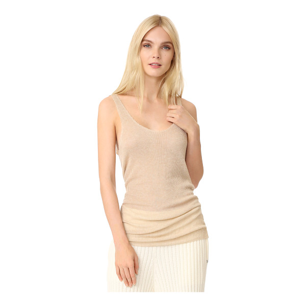 BAJA EAST sleeveless tank - This wispy Baja East top is cut from a fine cashmere blend...