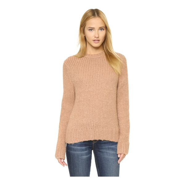 BALDWIN DENIM The madison sweater - A brushed finish accentuates the cozy feel of a casual...