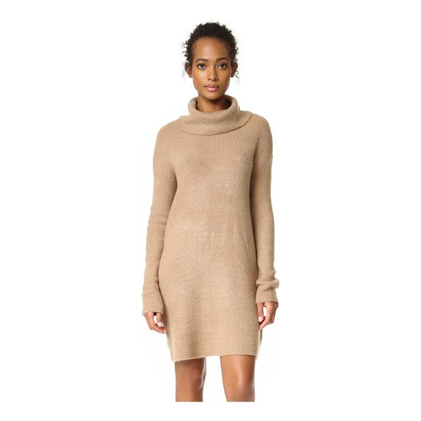 BB DAKOTA collins sweater dress - A super-soft BB Dakota turtleneck sweater dress with a...