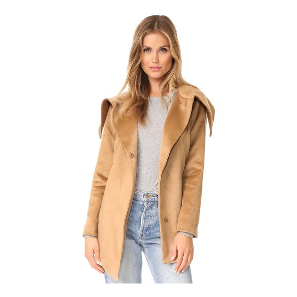 BB DAKOTA jack by  henry coat - An oversized collar lends a cozy look to this Jack by BB...