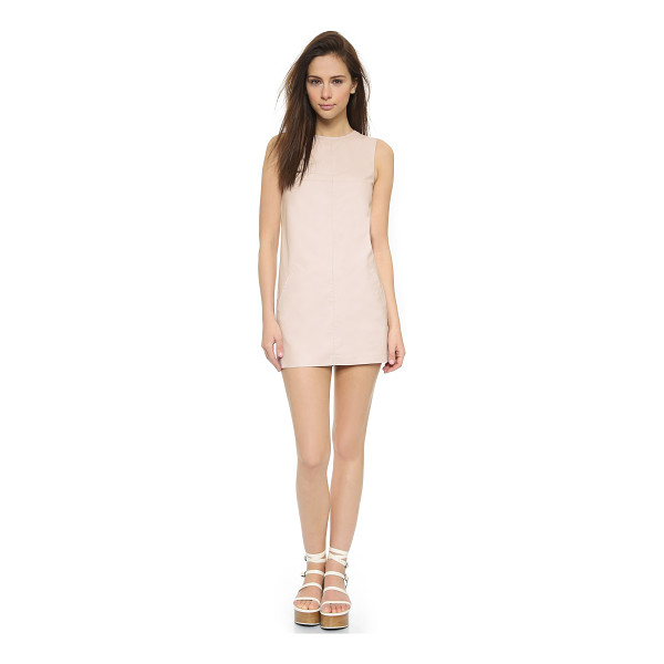 BB DAKOTA Marius dress - Smooth faux leather brings a glamorous look to this BB...