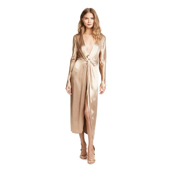 BEC & BRIDGE shimmy nights dress - This slinky, silky Bec & Bridge dress has a plunging...