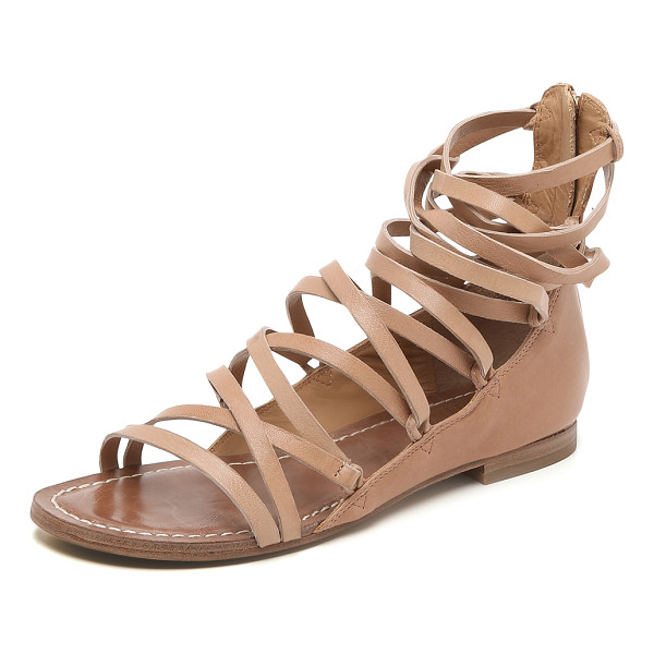 BELLE BY SIGERSON MORRISON Appa gladiator sandals - Skinny laces and smooth leather panels bring a simple,...