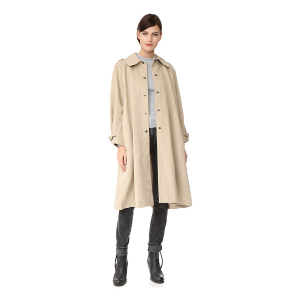 BELSTAFF alne trench coat - This Belstaff trench coat was designed in collaboration...