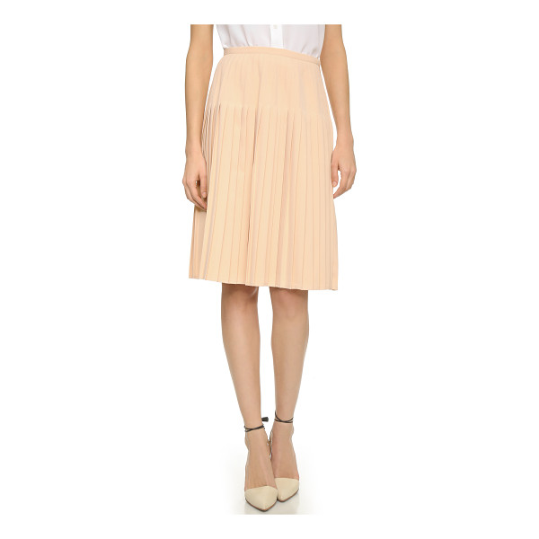BLAQUE LABEL Pleated skirt - Sharp pleats bring structured volume to this A line Blaque...