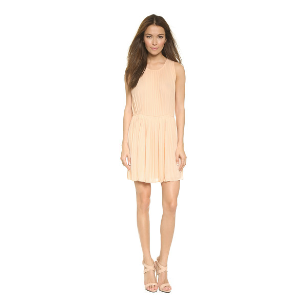 BLAQUE LABEL Pleated tank dress - Sharp pleats bring allover volume to this tank style Blaque...