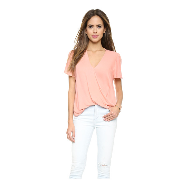 BLUE LIFE Valentina blouse - Draping softens the look of this lightweight Blue Life...