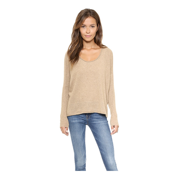 BOP BASICS Roxboro cashmere sweater - Shopbop's own exclusive label. Dropped shoulder seams and a...