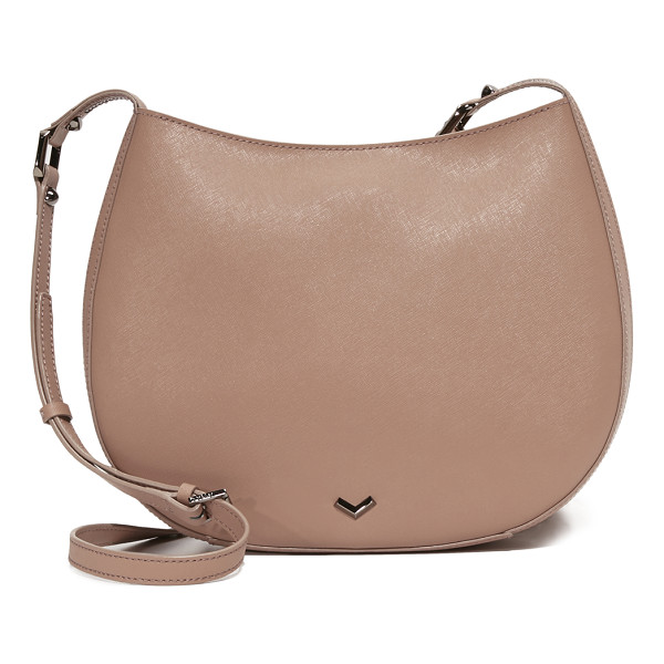 BOTKIER bowery cross body bag - Decorative zip trim lends an industrial touch to this