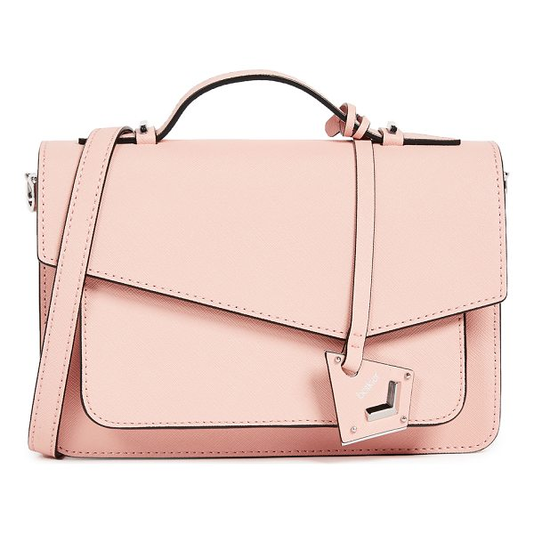 BOTKIER cobble hill cross body bag - A structured Botkier cross-body bag in saffiano leather....