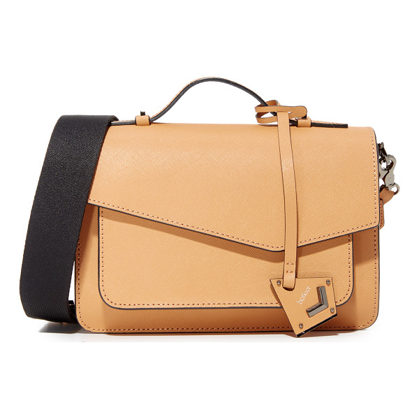 BOTKIER cobble hill cross body bag - A structured, saffiano-leather Botkier cross-body bag with...