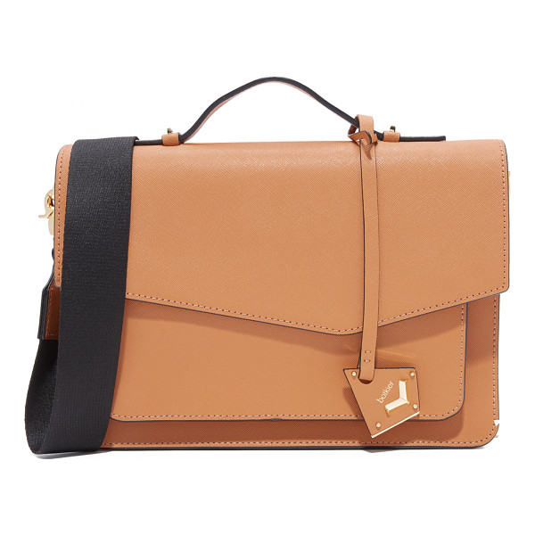 BOTKIER cobble hill satchel - A structured Botkier cross-body bag in saffiano leather...