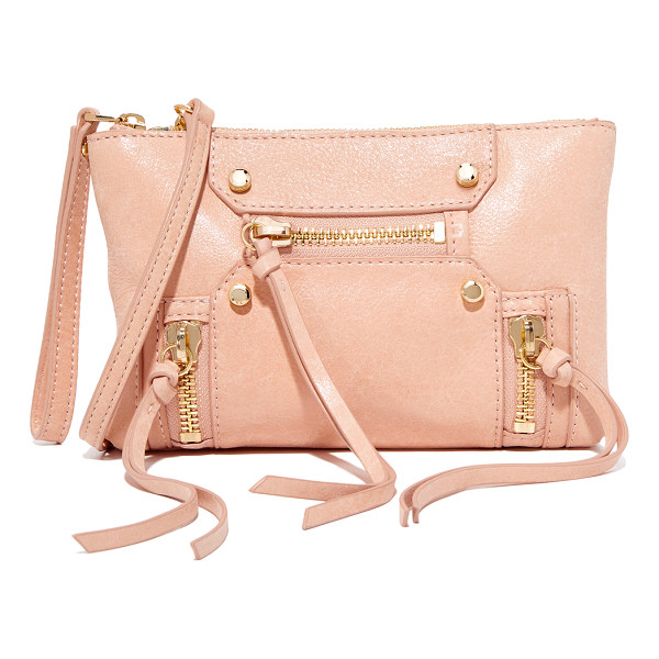 BOTKIER logan cross body bag - Supple leather lends a perfectly worn feel to this tiny