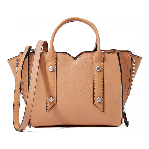 BOTKIER Murray mini tote - Brushed hardware and a notched top line accent this