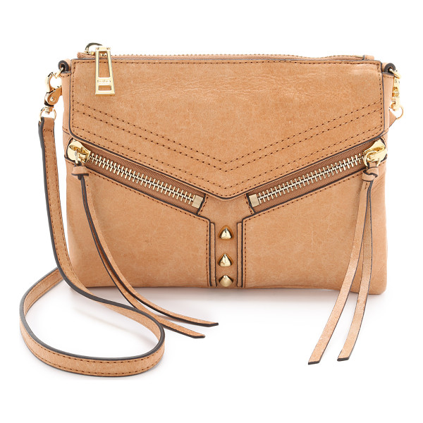 BOTKIER Trigger cross body bag - A Botkier cross body bag cut from wrinkled patent leather.
