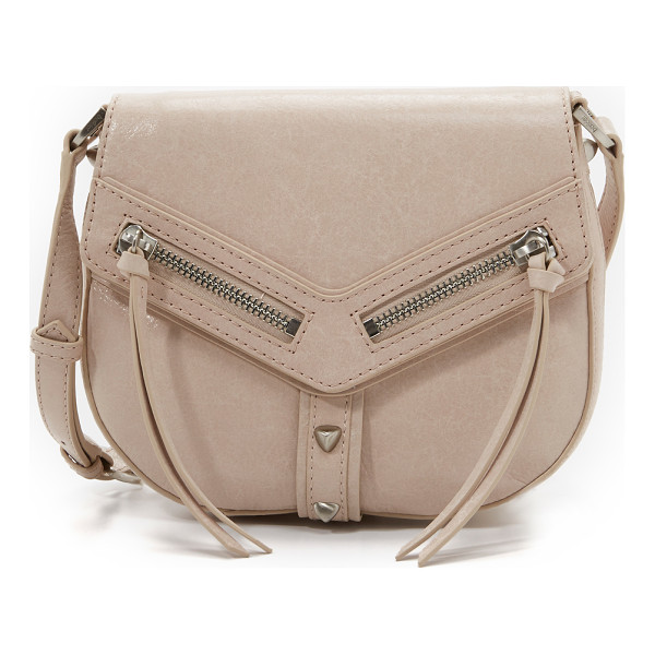BOTKIER Trigger saddle bag - A saddle shaped Botkier shoulder bag in glazed leather with