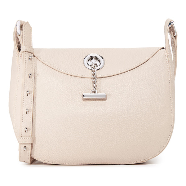 BOTKIER waverly shoulder bag - A polished toggle secures the slim top flap of this