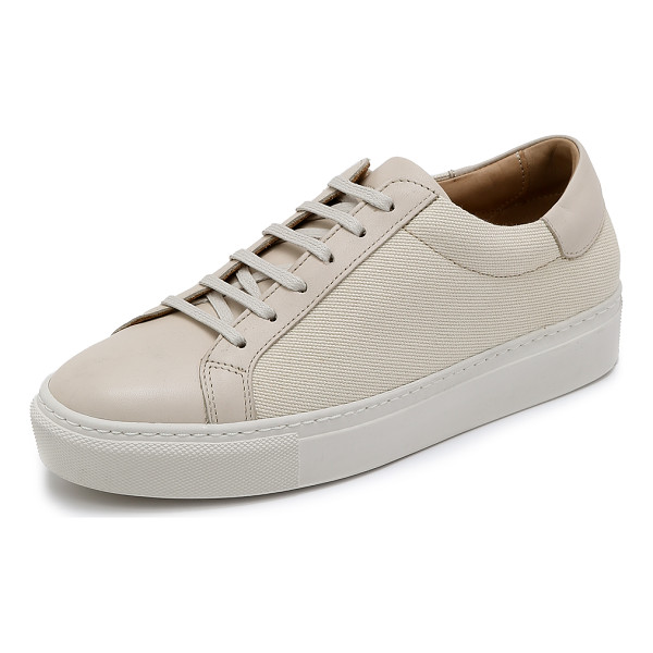 BY MALENE BIRGER Ceally sneakers - Canvas By Malene Birger sneakers in a classic low top...