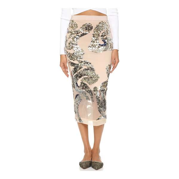 BY MALENE BIRGER Tabitae embellished skirt - Matte and mirrored sequins form a bold pattern on this By...