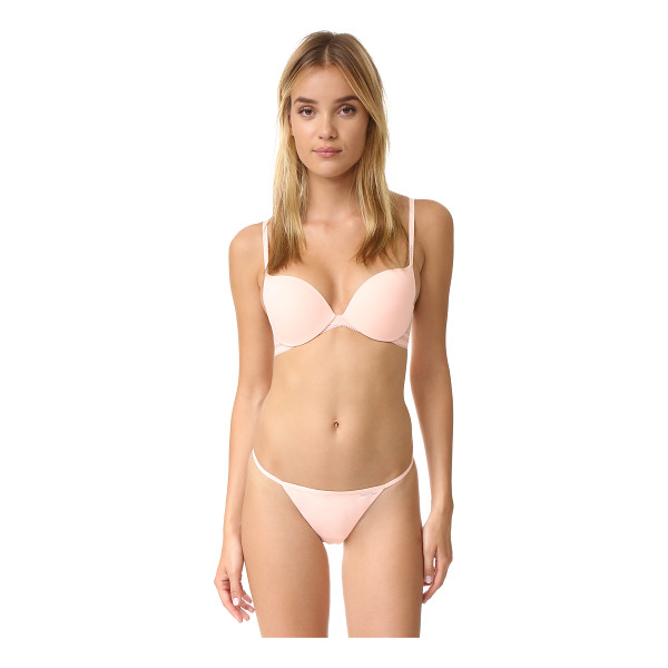 CALVIN KLEIN UNDERWEAR Icon covertible push up bra - This Calvin Klein Underwear push up bra is crafted with...